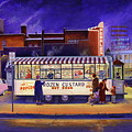 Snack Wagon by Randy Welborn