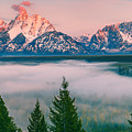 Snake River Overlook - Grand Teton National Park by Henk Meijer Photography