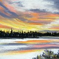 Snake River Sunset by Gale Cochran-Smith