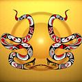 Snakes Homage To Mata Ortiz by Tony Ramos