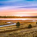 Snaking  River by Jon Manjeot