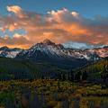 Sneffels Autumn Sunrise by Mike Dawson