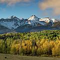 Sneffls Range Panorama From County Road 5  by Bridget Calip