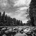 Snoqualmie River by Rick Takagi