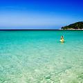 Snorkeling At Karon Beach by Bill Brennan - Printscapes