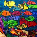 Snorkeling Off Norman Island by Patti Schermerhorn