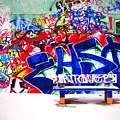 Snow And Graffiti by Tara Turner