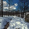 Snow At Faiallo Pass - Nevicata Al Passo Del Faiallo Sull'alta Via Dei Monti Liguri by Enrico Pelos