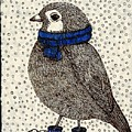 Snow Bird by MaryLee Parker
