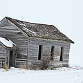 Snow Bound by Bonfire Photography