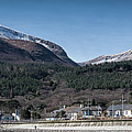 Snow Capped Mourne Mountains by Nigel R Bell