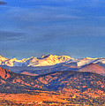 Snow-capped Panorama Of The Rockies by Scott Mahon