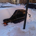 Snow Car by Lord Frederick Lyle Morris - Disabled Veteran