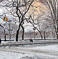 Snow Day On 5th Avenue by Madeline Ellis