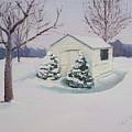Snow Drifts by Lea Novak