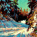 Snow Drive 2 by Brian Simons