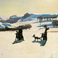 Snow Fields by Rockwell Kent