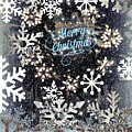 Snow Flakery Wreath 1 by Blake Baines
