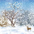 Snow Flurry by Arline Wagner