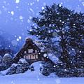 Snow, Historic Villages Of Shirakawa, Japan by Chon Kit Leong