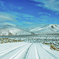 Snow In Death Valley by Peter Tellone