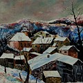 Snow In Laforet 78 by Pol Ledent