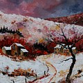 Snow In The Ardennes 78 by Pol Ledent