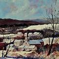 Snow In Vittrival by Pol Ledent
