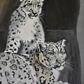 Snow Leopards by SueZan Stutts