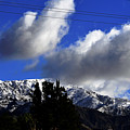 Snow Line In Socal by Clayton Bruster