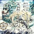 Snow Lion by Silk Alchemy