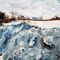 Snow On Southwick by Elizabeth Carr
