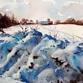 Snow On Southwick I by Elizabeth Carr