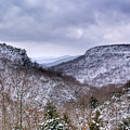 Snow On The Mesa by Douglas Barnett
