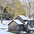 Snow On The Mill by Eric Liller