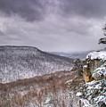 Snow On The Plateau by Douglas Barnett