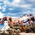 Snow On The Superstitions by Alan Ignatowski