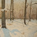 Snow On The Wood by Anthony Meton