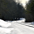 Snow On Tracks by Glenda Ward