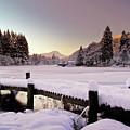 Snow Over Loch Ard by Amanda Finan