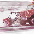 Snow Plow In Business Park 2 by Steve Ohlsen