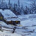 Snow Portrait by Terry Lash