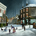 Snow Scene At The Black Country Village by Ken Wood