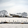 Snow Scene Barkisland by Paul Dene Marlor