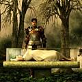 Snow White's Glass Coffin by Daniel Eskridge