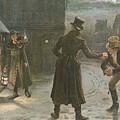 Snowballing The Watchmen by George Goodwin Kilburne