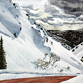Snowboarding by Barry Levy