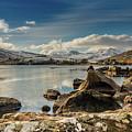 Snowdon From Llynnau Mymbyr by Adrian Evans