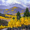 Snowing In The Mountains by John Lautermilch