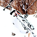 Snowing On The Bicycle by Merle Smith
